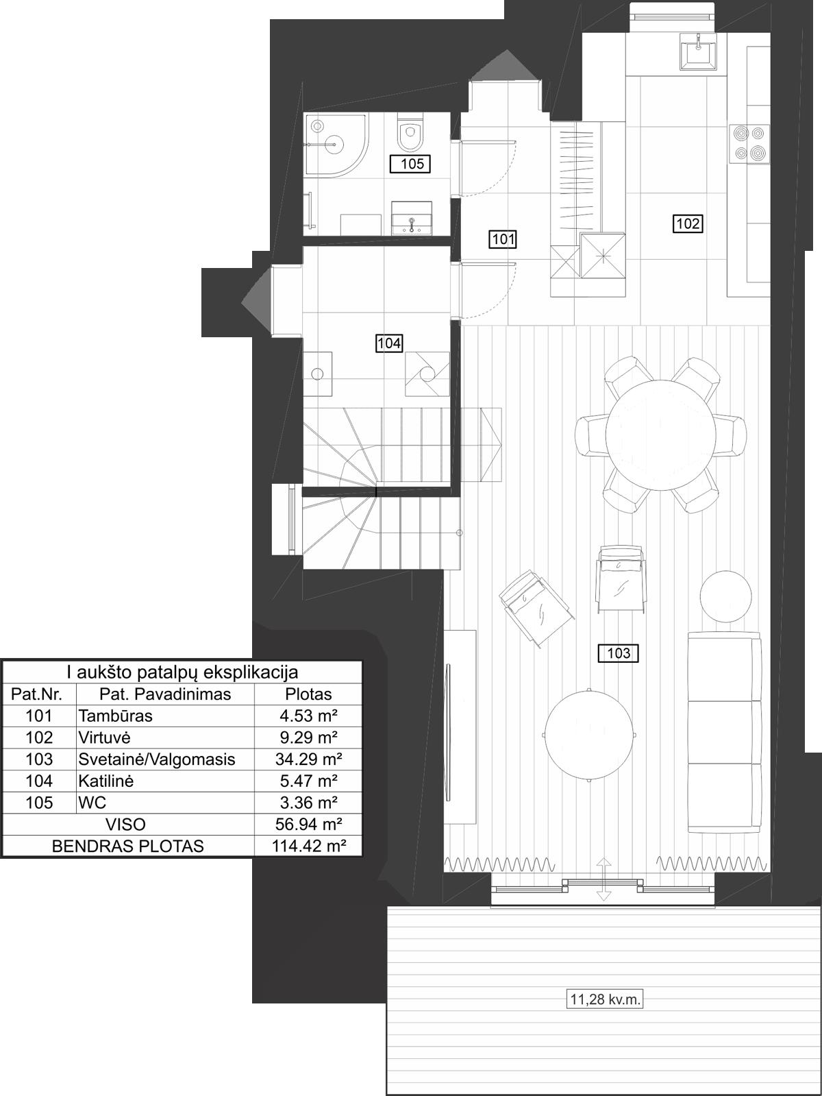 Dvibutis namas 10