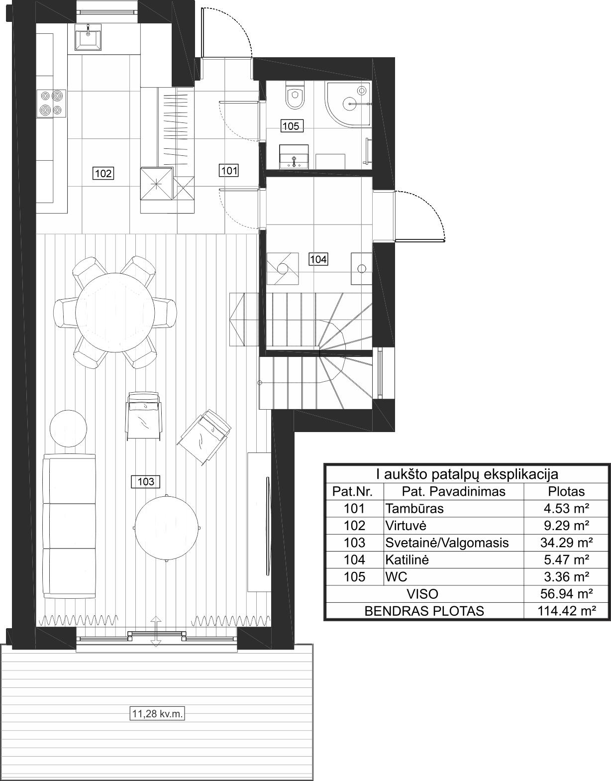 Dvibutis namas 15